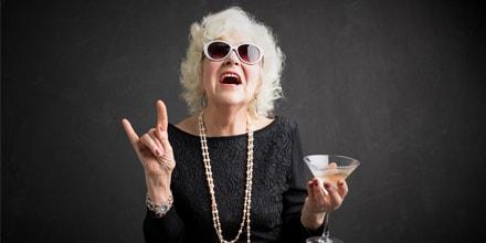 Les seniors se sentent plus jeunes que leur âge