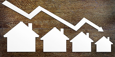 Le marché immobilier tourne au ralenti malgré des taux d'intérêts toujours bas