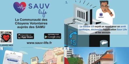 Santé : SAUV Life, la communauté des citoyens volontaires auprès des SAMU