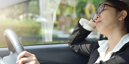 des lunettes connect es anti endormissement au volant. Black Bedroom Furniture Sets. Home Design Ideas