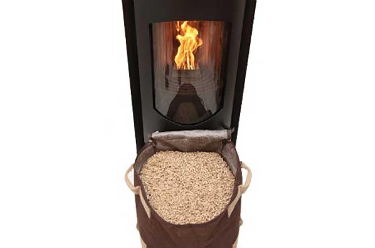Poêle à granulé de bois