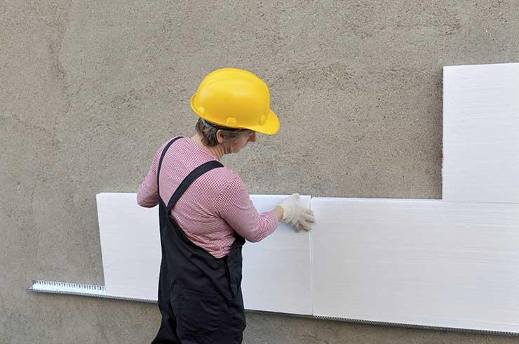 Isolation des murs et Façades par l'extérieur